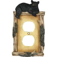 Rivers Edge Products Bear Electrical Outlet Cover