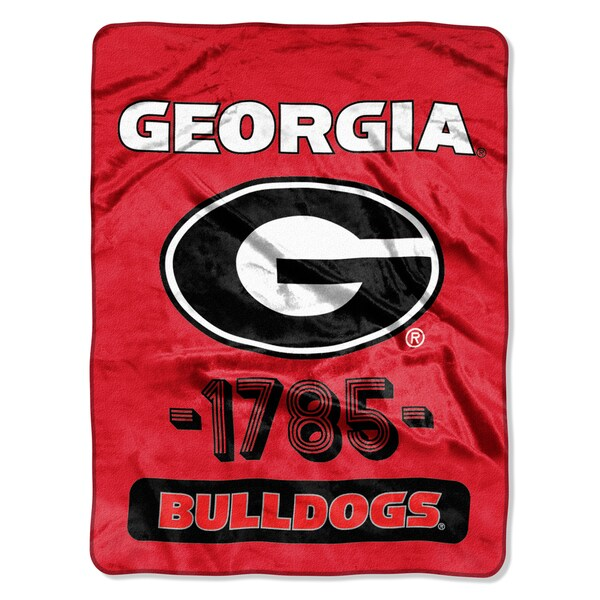 NCAA Georgia College Varsity Micro Throw Blanket