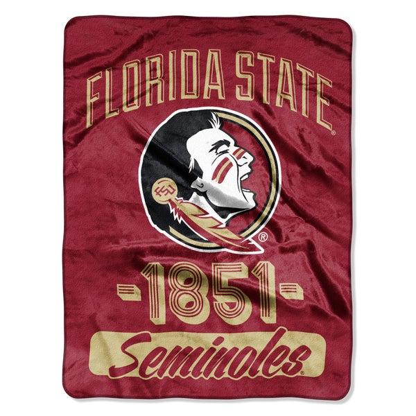 NCAA Florida State College Varsity Micro Throw Blanket