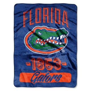 NCAA Florida College Varsity Micro Throw Blanket