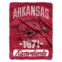 NCAA Arkansas College Varsity Micro Throw Blanket