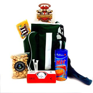 Fifth Avenue Hit 'em Straight Golf Bag Cooler Gift Set