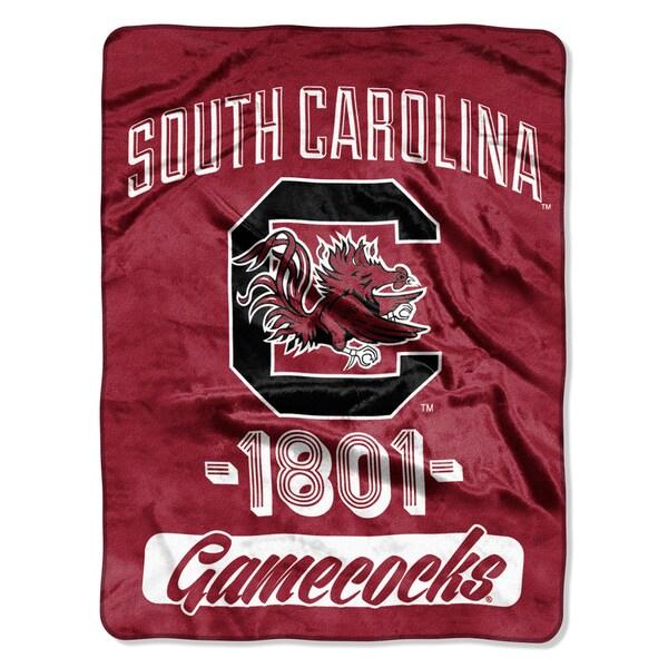 NCAA South Carolina College Varsity Micro Throw Blanket