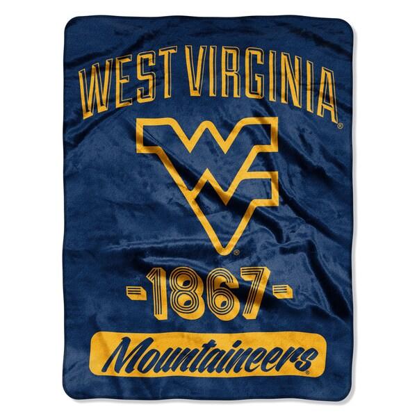 NCAA West Virginia College Varsity Micro Throw Blanket
