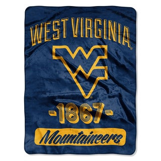 NCAA West Virginia College Varsity Micro Throw Blanket