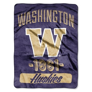 NCAA Washington College Varsity Micro Throw Blanket