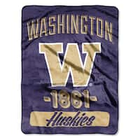 NCAA Washington College Varsity Micro Throw Blanket