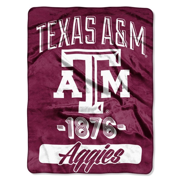 NCAA Texas A&M College Varsity Micro Throw Blanket