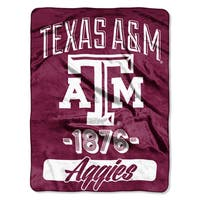 NCAA Texas A&M College Varsity Micro Throw Blanket
