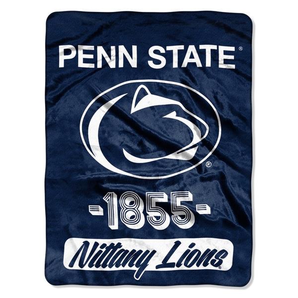 NCAA Penn State College Varsity Micro Throw Blanket