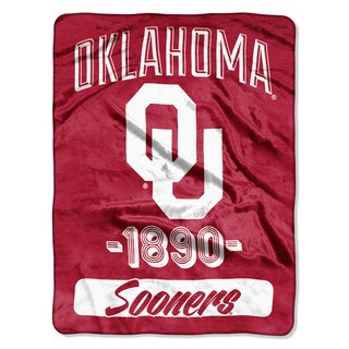 NCAA Oklahoma College Varsity Micro Throw Blanket