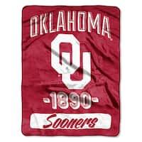 NCAA Oklahoma College Varsity Micro Throw Blanket