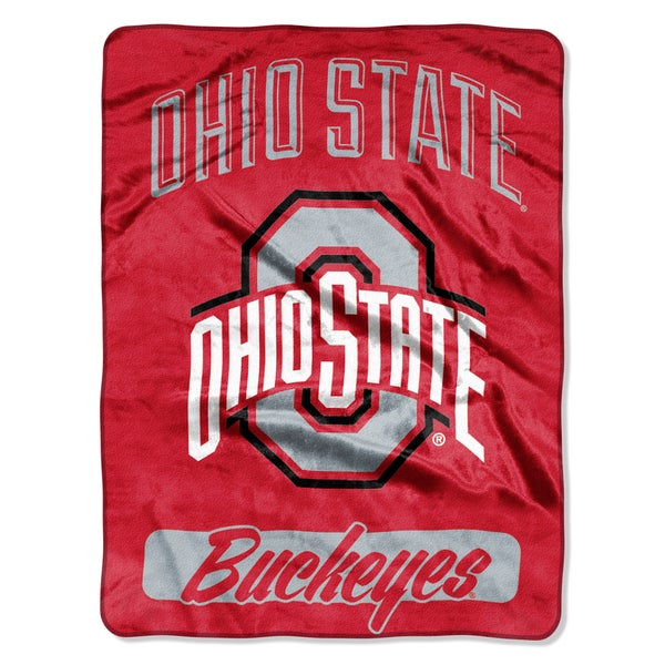 NCAA Ohio State College Varsity Micro Throw Blanket