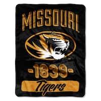NCAA Missouri College Varsity Micro Throw Blanket