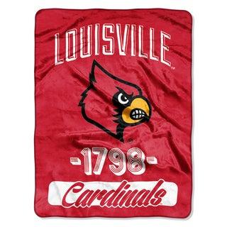 NCAA Louisville College Varsity Micro Throw Blanket