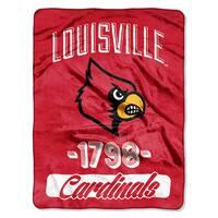 NCAA Louisville College Varsity Micro Throw Blanket