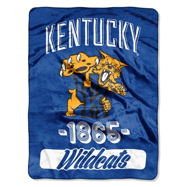 NCAA Kentucky College Varsity Micro Throw Blanket