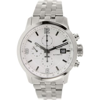 Tissot Men's Prc 200 T055.427.11.017.00 Silver Stainless-Steel Swiss Automatic Watch with Silver Dia
