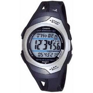 Casio Men's STR300C-1V Black Plastic Quartz Watch with Digital Dial