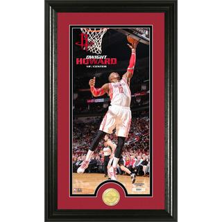 NBA Dwight Howard Bronze Coin Panoramic Photo Mint
