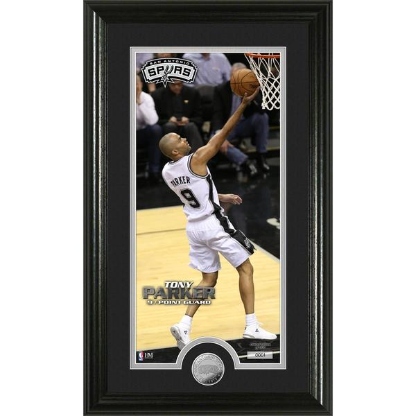 NBA Tony Parker Minted Coin Panoramic Photo Mint
