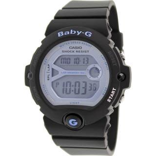 Casio Women's Baby-G BG6903-1 Black Resin Quartz Watch with Digital Dial|https://ak1.ostkcdn.com/images/products/9616115/P16801520.jpg?impolicy=medium