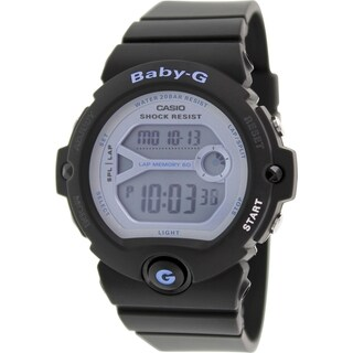 Casio Women's Baby-G BG6903-1 Black Resin Quartz Watch with Digital Dial