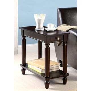 Rectangle Casual Cappuccino Accent Table
