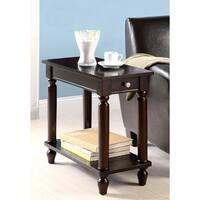 Casual Design Cappuccino Accent Table