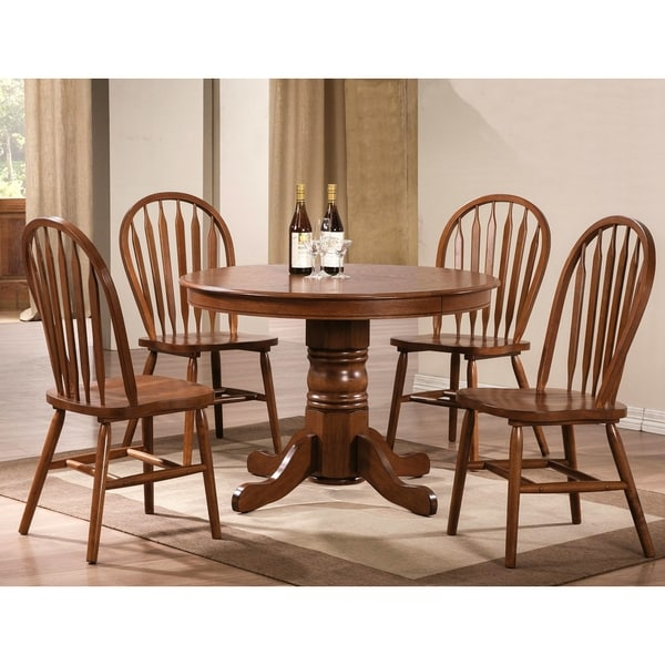 Shop Fallsburg Windsor Country Style 5 Piece Dining Set