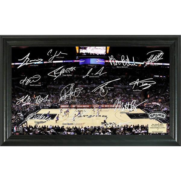 NBA San Antonio Spurs Signature Court