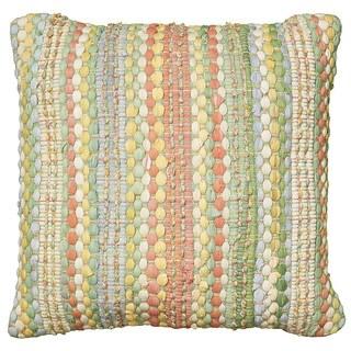 LNR Home Contemporary Jade 20-inch Throw Pillow