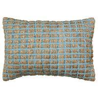LR Home Contemporary 16 x 24 Blue Throw Pillow