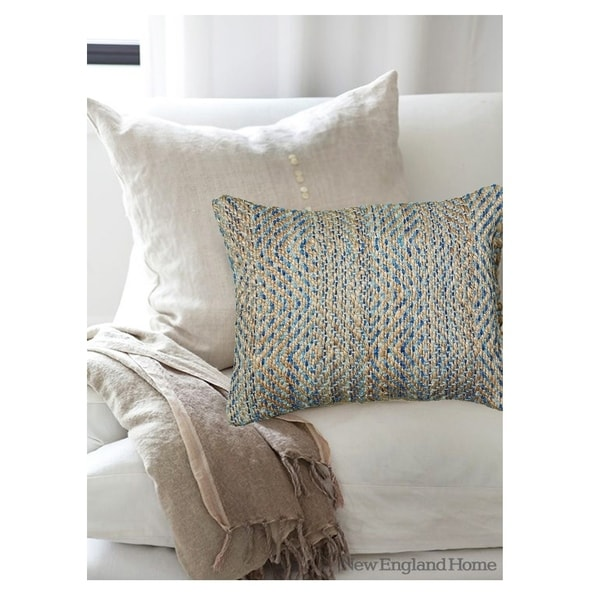 Shop Lr Home Contemporary Light Blue 16 X 24 Throw Pillow