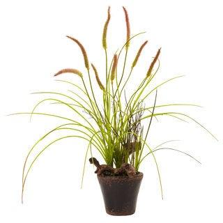 Swampy Cattail Garden Planter