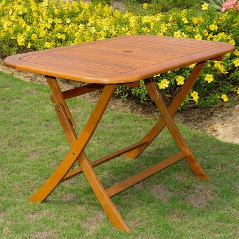 International Caravan Royal Fiji Folding Patio Table