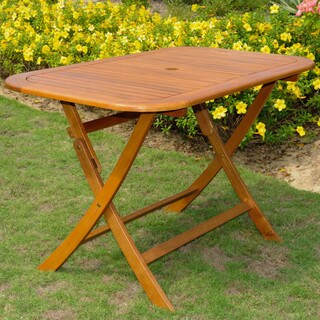 International Caravan Royal Fiji Folding Patio Table