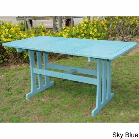 International Caravan Royal Fiji Rectangular Dining Table