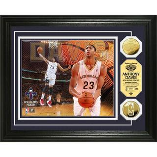 NBA Anthony Davis Gold Coin Photo Mint