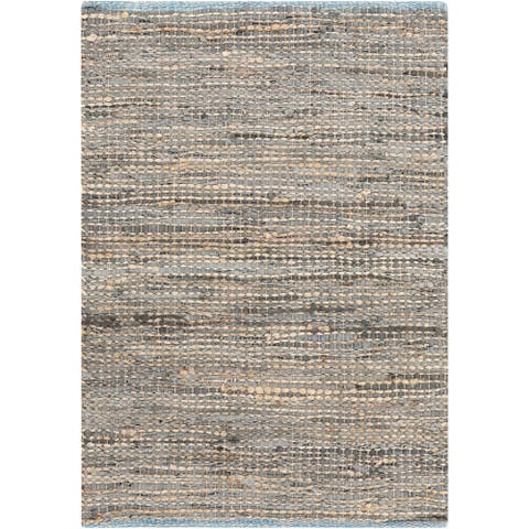 Hand-Loomed Reversible Haley Abstract Area Rug - 2' x 3'