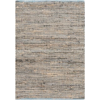 Hand-Loomed Reversible Haley Abstract Area Rug -(2' x 3')