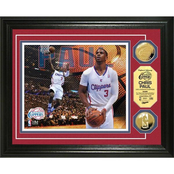 NBA Chris Paul Gold Coin Photo Mint