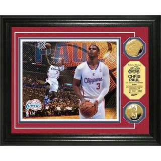 NBA Chris Paul Gold Coin Photo Mint