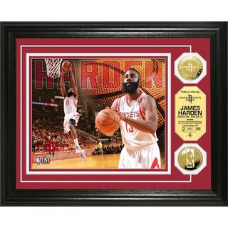 NBA James Harden Gold Coin Photo Mint