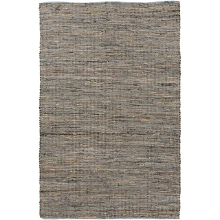 Hand-Loomed Reversible Haley Abstract Area Rug -(5' x 8')