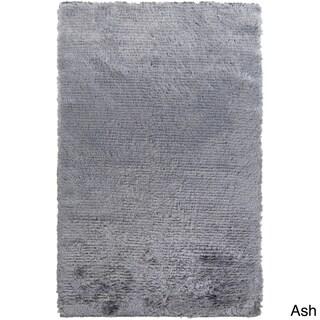Hand Woven Helga Polyester Shag Area Rug-(5' x 8')