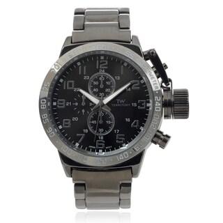 Territory Men's Tachymeter Metal Link Bracelet Wrist Watch