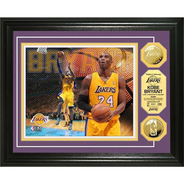 NBA Kobe Bryant Gold Coin Photo Mint