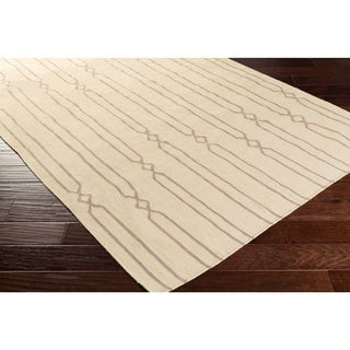 Hand-woven Will Reversible Wool Rug (2' x 3')