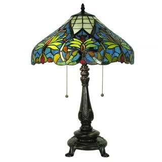 Tiffany-style Suzette Table Lamp